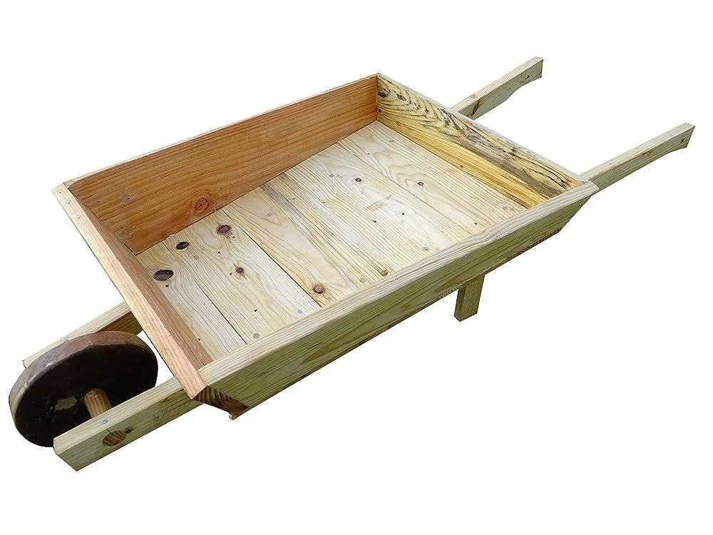 Carretilla de madera para jardin & Macetero & Macetas, Jardineras: Amazon.es: Handmade