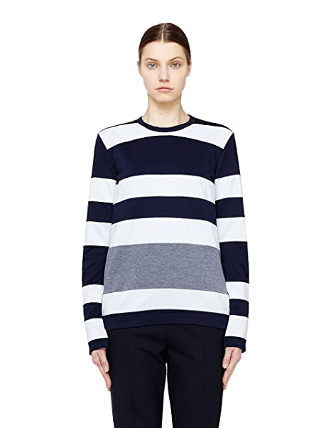 24a0286395c0c Amazon.com: COMME DES GARCONS CDG Striped Long Sleeve T-Shirt: Clothing