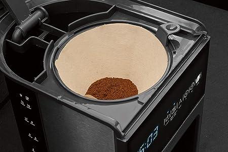 Caso Coffee One Coffe 1ne-Cafetera de diseño con Filtro y Pantalla ...
