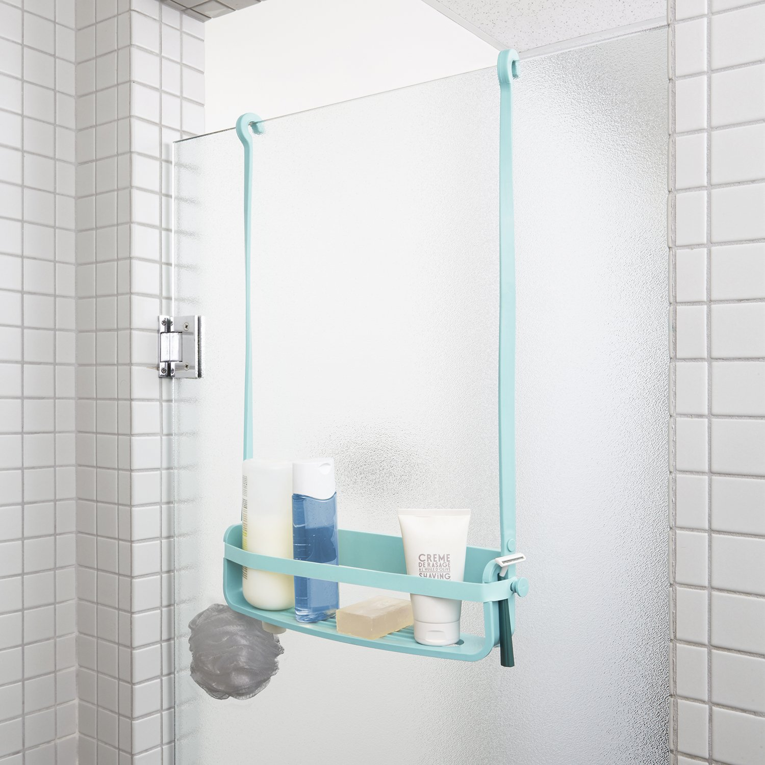 Umbra Flex Shower Mirror Surf Blue Yes 023463-276