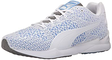 PUMA Men's XS500 TK Fade Gray Sneaker 10.5 D - Medium