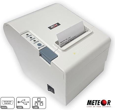 Impresora pos térmica Meteor Sprint R 80 mm White Puerta USB + ...