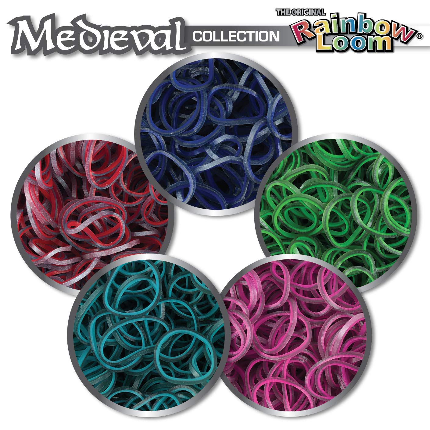 Rainbow Loom Bracelet Craft Kit Choon/'s Design R0086