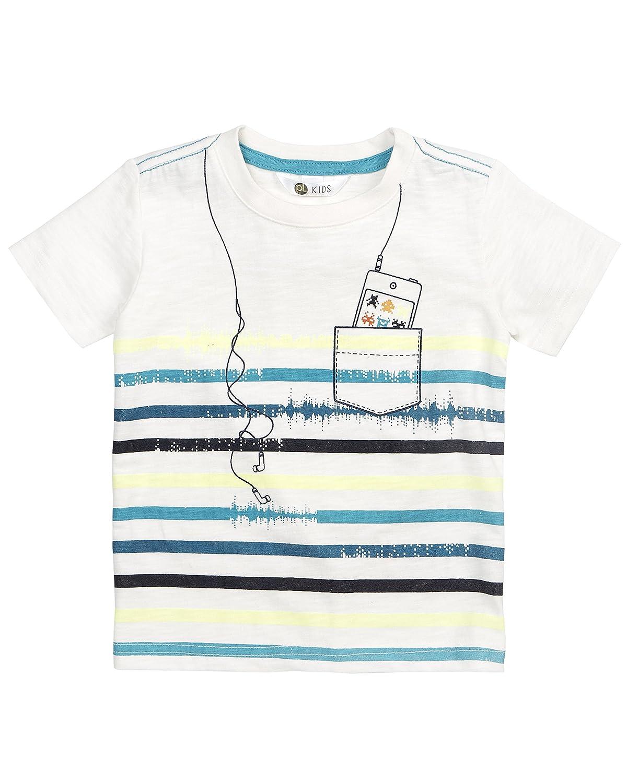 Petit Lem Boys Little Techno City Knit T-Shirt