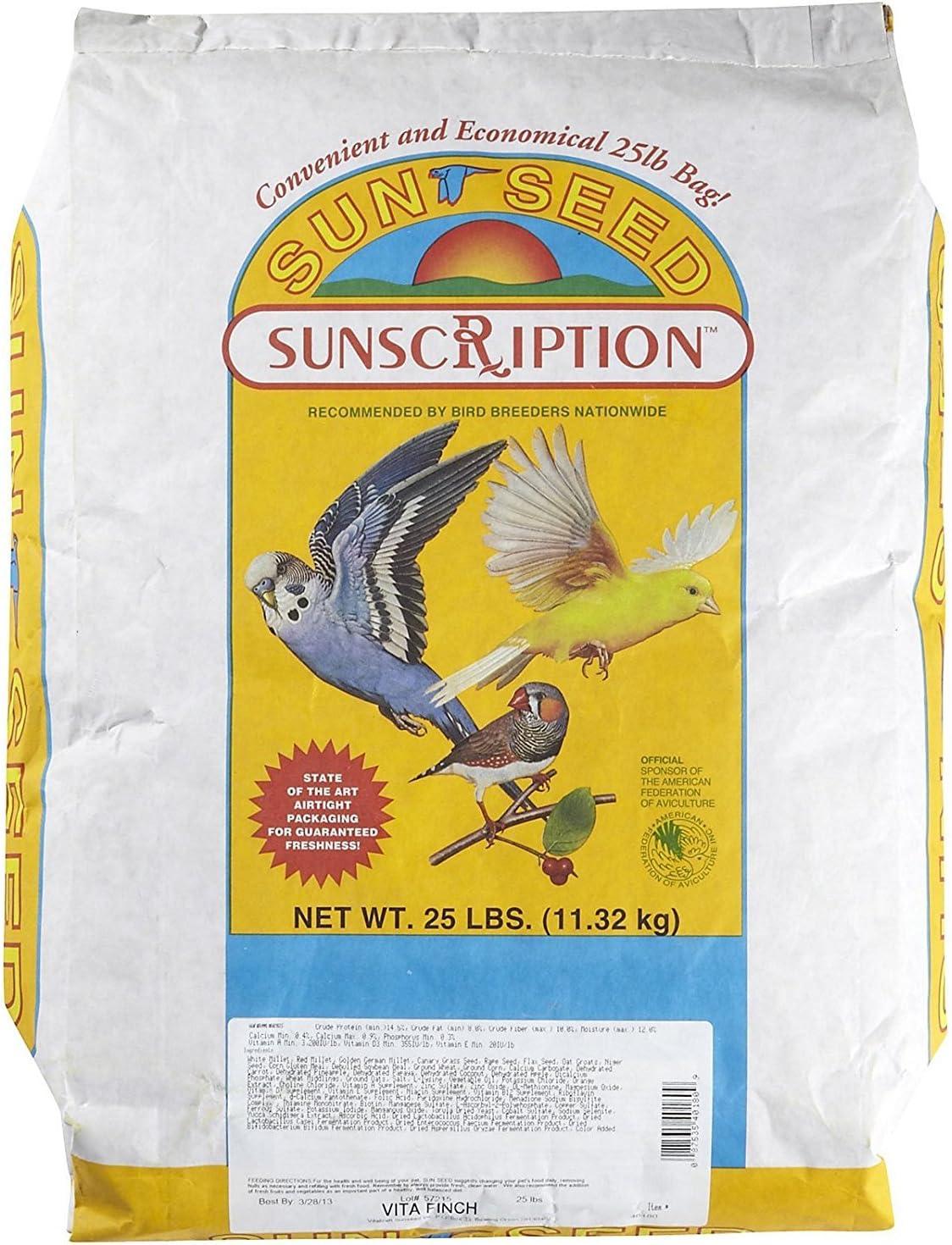 Sunthing Special Vita Finch Formula