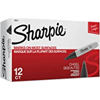 Deals on 12-Pack Sharpie Chisel Tip Permanent Markers