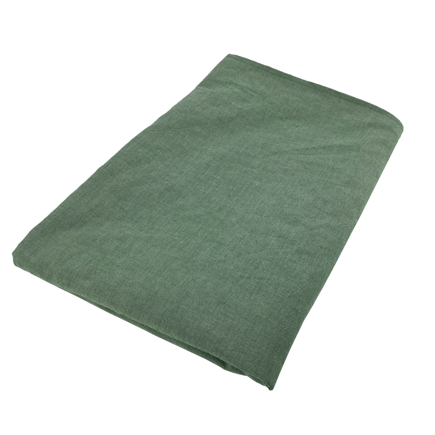 Hypnoser New Version Weighted Blanket Cover for Child and Adults,Ultra Soft,Washed Cotton Fabric,48 x 72,Light Greyish-Green 48 x 72