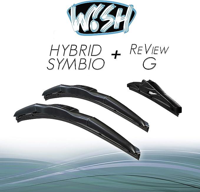 Wish Hybrid Symbio Satz Front Heck Scheibenwischer Länge 20 500mm 19 480mm 10 250mm Wischblätter Vorne Und Hinten Hybrid Scheibenwischer Review G Hs20 19 Rg10 Auto