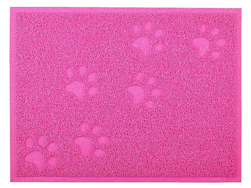 Cat Pet Litter Mat,Kitty Litter Rug,Doormat,Rectangle Shape, 16*12 Inches,4 colors available (Lime) DM