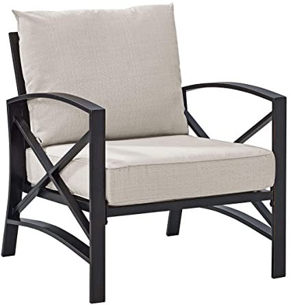Amazon Com Crosley Furniture Ko60007bz Ol Kaplan Outdoor Arm Chair