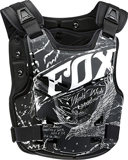 Fox Brustpanzer Proframe LC Schwarz 1