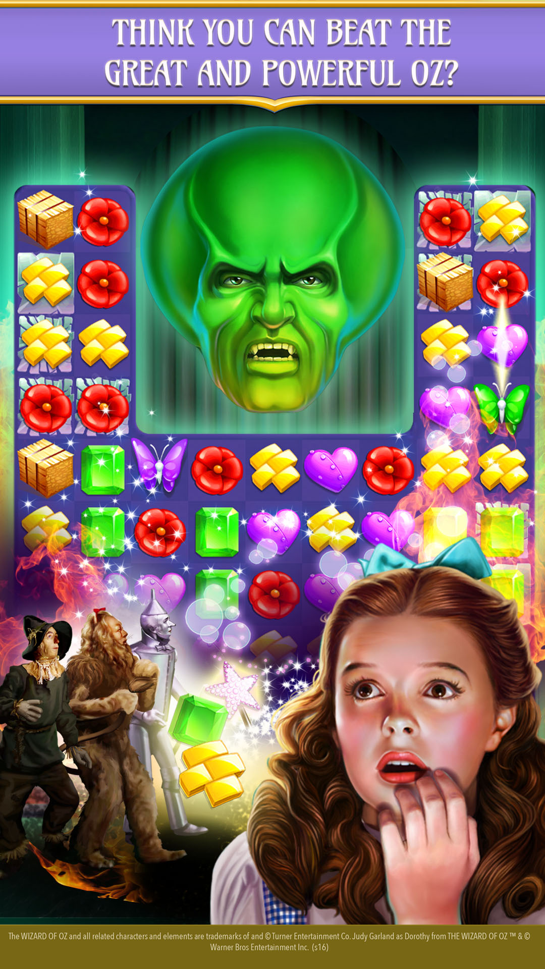 Amazon The Wizard Of Oz Magic Match 3 Appstore For Android