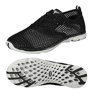 4fc98ea22 Zhuanglin Women s Mesh Slip On Water Shoes  Amazon.co.uk  Shoes   Bags