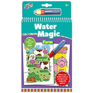 galt toys water magic farm colouring book for children - Colouring Books For Children