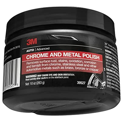 3M 39527 Chrome and Metal Polish