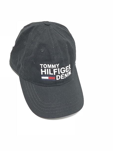 Tommy Hilfiger - Gorra de béisbol - para Hombre Negro Negro Talla única   Amazon.es  Ropa y accesorios 4a70c8c9ace