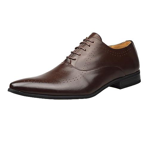 ClassyDude - Mocasines de Material Sintético para Hombre Negro Negro: Amazon.es: Zapatos y complementos
