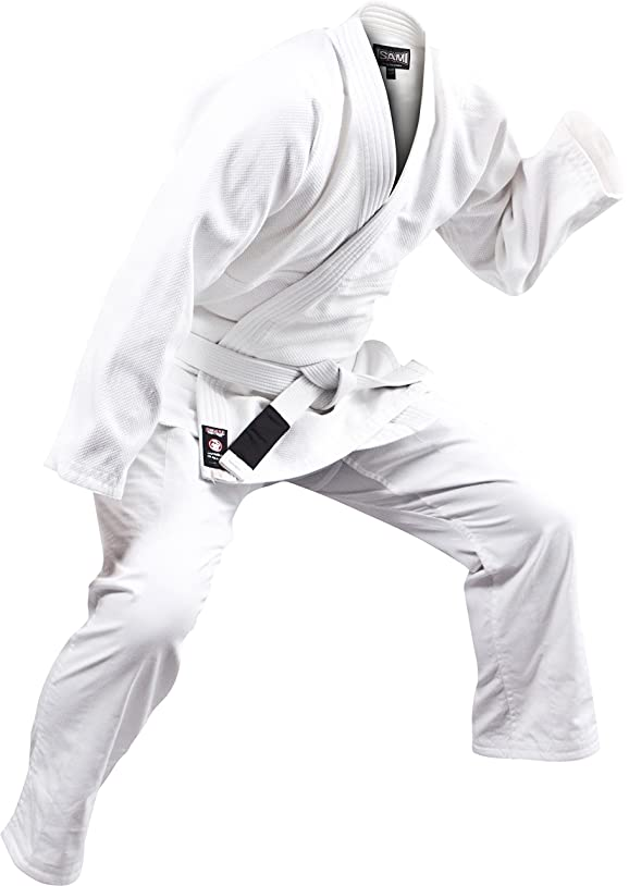 オーケストラ好ましいファックスISAMI(イサミ) 柔術帯(白帯) A-JJ-20 A0(3号 245cm)