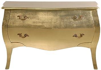 Kare 73361 Kommode Romantic 75 X 121 X 56 Cm Gold Mdf Holz Amazon