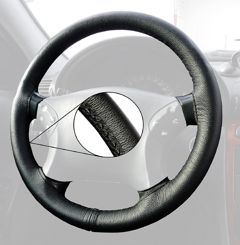 Naht schwarz L/&P A270-E39 Lenkradh/ülle Lenkradbezug Echtleder Lenkrad Bezug passgenau geschneidert