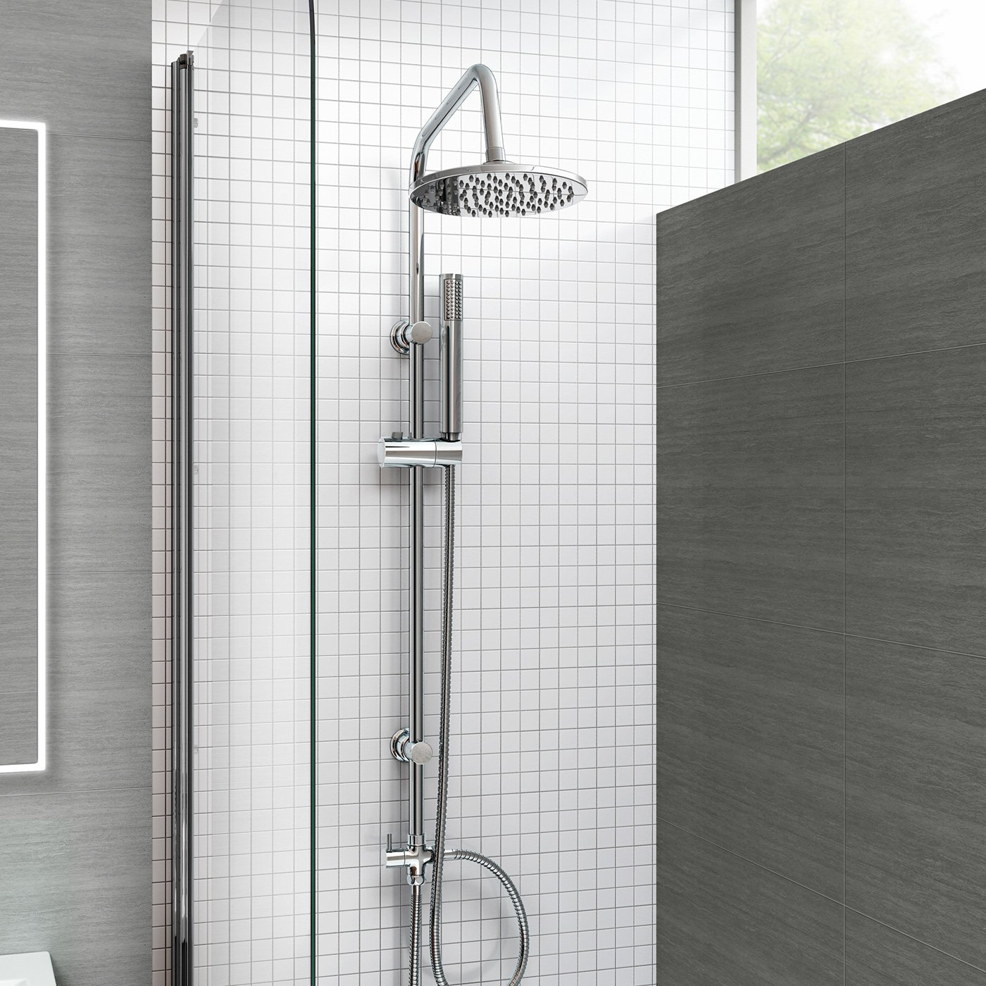 here height head shower ideas try amazon too are to low extend a hotelspa that few heads