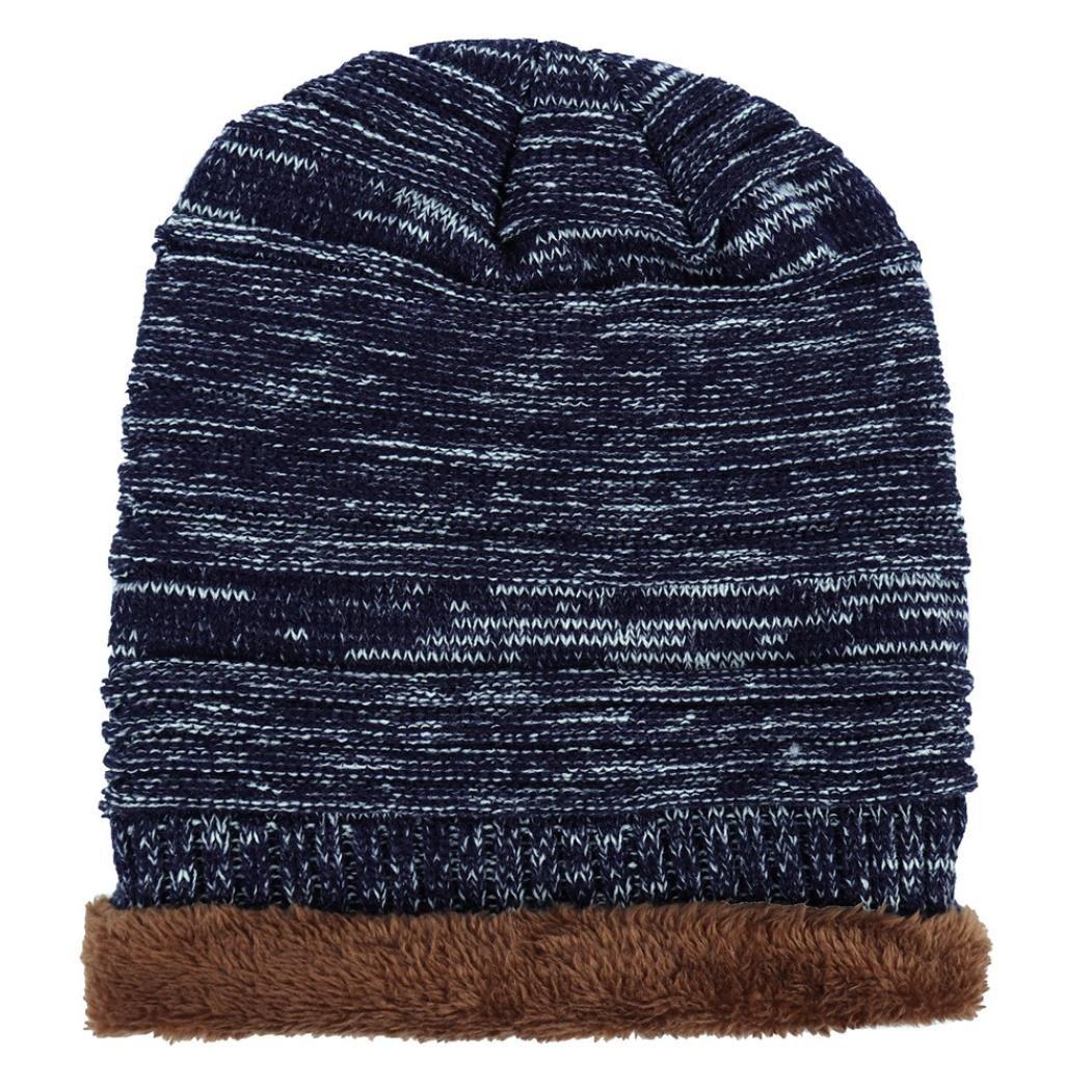 stricken Hut , Kobay Unisex Männer Frauen stricken Cap Hedging Kopf ...