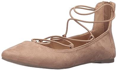 amazon com report women s bell ballet flat flats