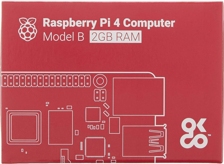 Raspberry Pi 4 Modell B Basisplatine 2 Gb Elektronik