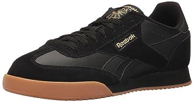 a92bc625008 Reebok Men s Royal Rayen 2 Fashion Sneaker Black Gold Metallic Gum 6 ...