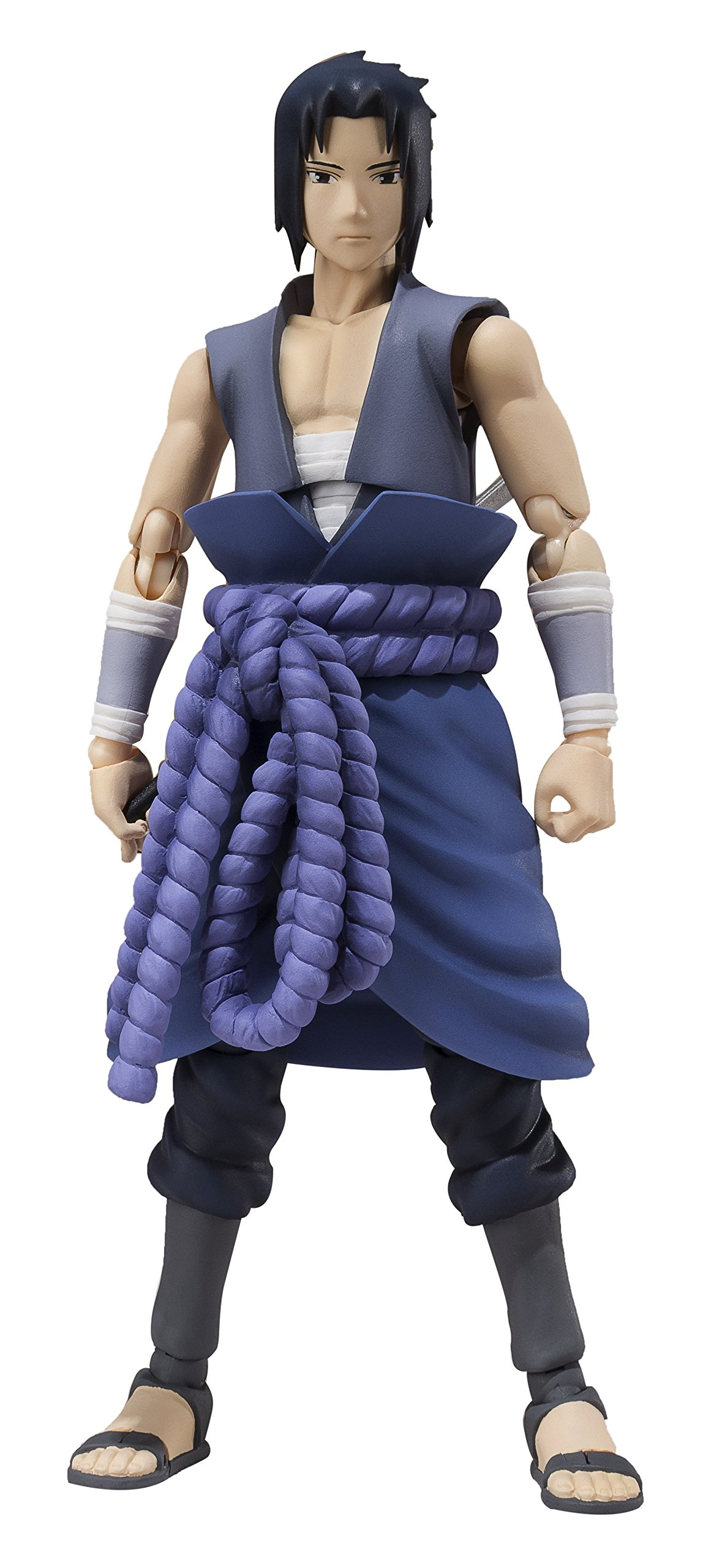 Bandai Tamashii Nations Naruto Shippuden Sasuke Uchiha S.H. Figuarts Action Figure (Itachi Battle) by Tamashii Nations