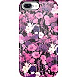 Speck Products Presidio Inked Cell Phone Case for iPhone 7 Plus - FlowerEtch Pink Metallic/Magenta