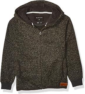 Quiksilver Boys Keller Zip Youth Polar Fleece Sweatshirt