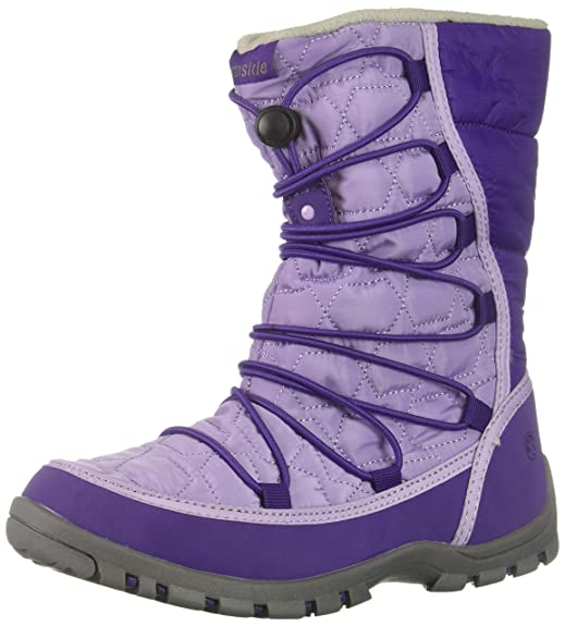 Northside Girls' Starling Snow Boot, Purple/Lilac, 2 Medium US Little Kid