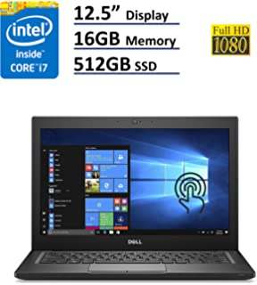 Dell Latitude 7000 7280 Business Ultrabook - 12.5in Gorilla Glass Touchscreen FHD (1920X1080)