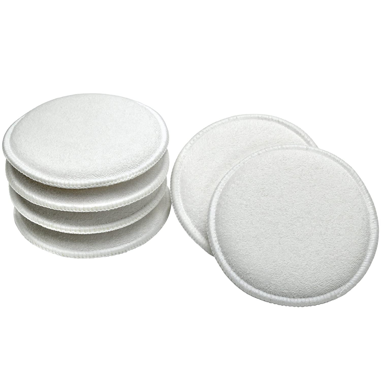 Viking Cotton Terry Wax Applicator Pads - 6 Pack 986016