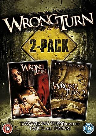 Wrong Turn/Wrong Turn 2 - Dead End Edizione: Regno Unito Reino ...