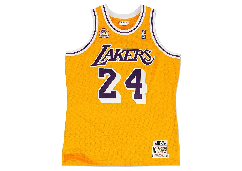 c20ebacd8 Amazon.com   Kobe Bryant Los Angeles Lakers  24 NBA Men s 2007 Authentic  Jersey   Sports   Outdoors
