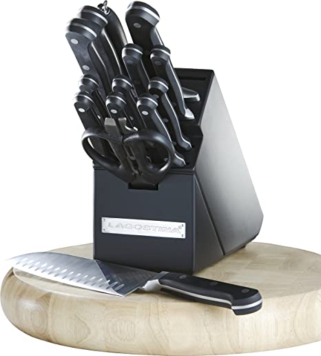 Amazon.com: Lagostina – 15 pc juego de cuchillo de cocina ...