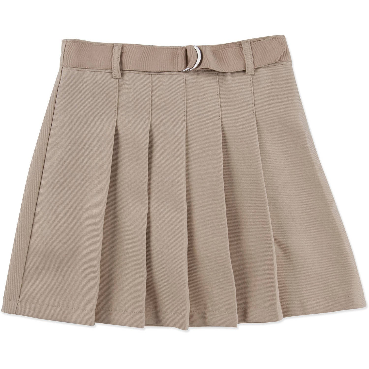 George Girls' School Uniform - Belted Pleated Scooter Skirt