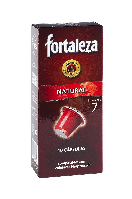 Nespresso compatible - Café Fortaleza Natural - 10 cápsulas