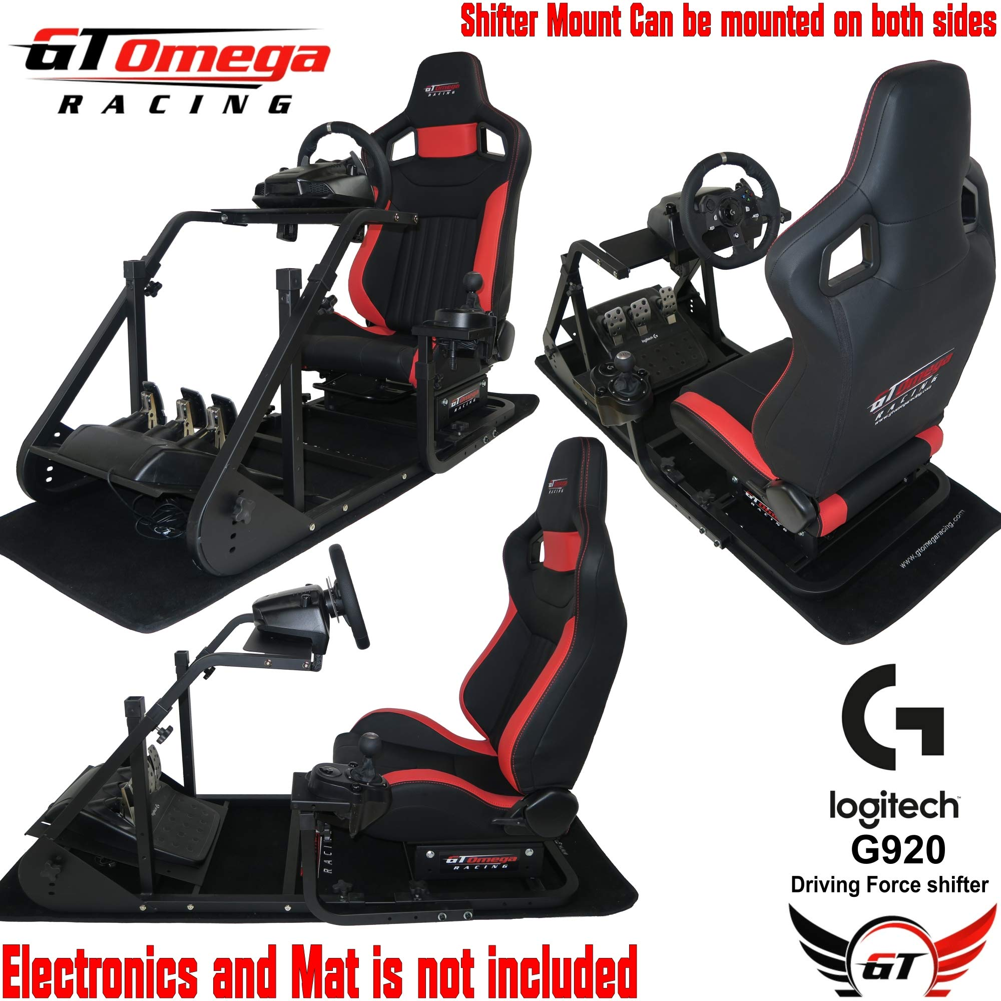 GT Omega ART Racing Simulator Cockpit RS6 Gaming Console