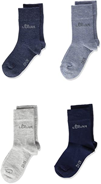 00221a3ac02e6 Oliver Socks Calcetines (Pack de 4 para Niños: Amazon.es: Ropa y accesorios