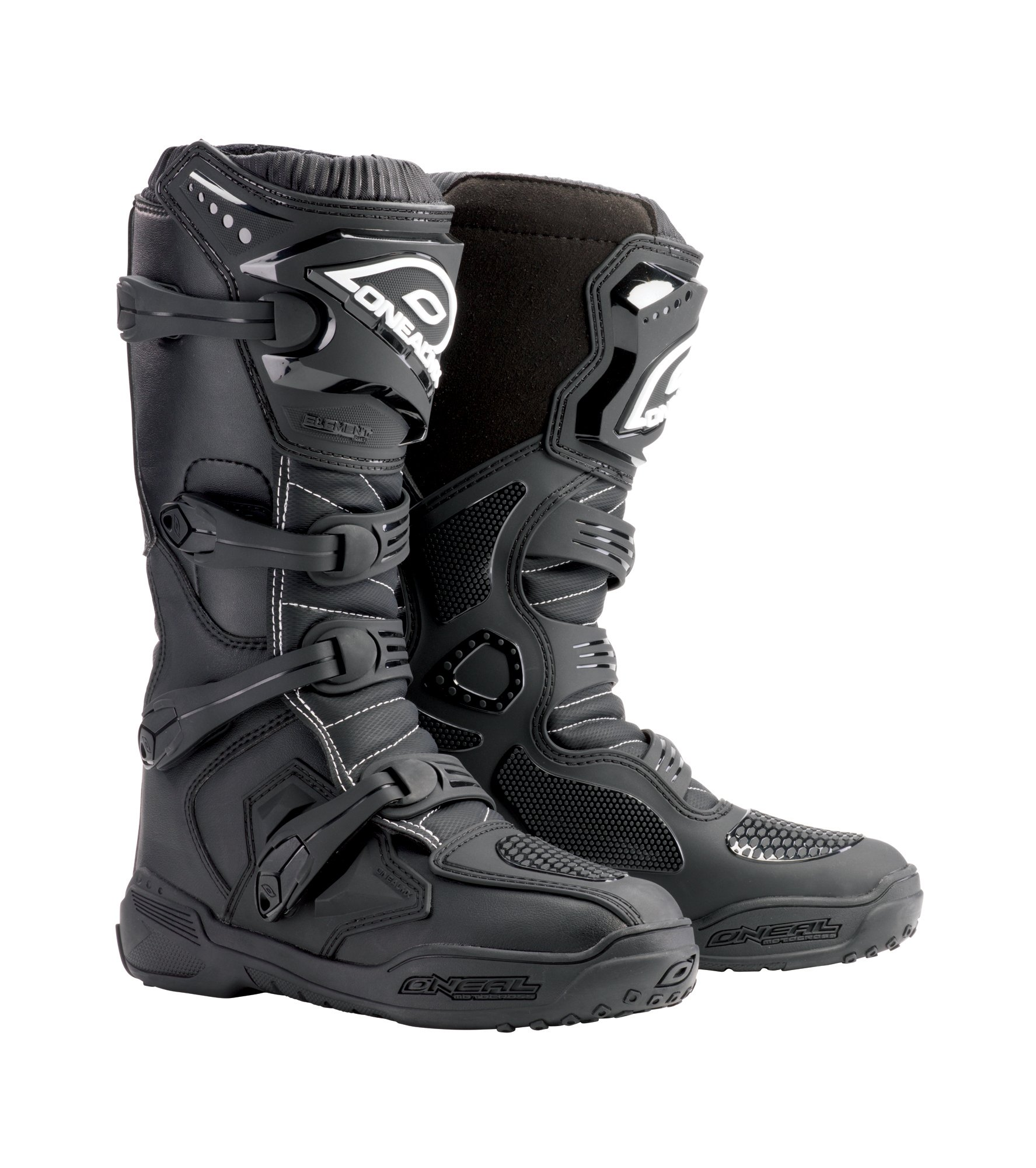 O'Neal Men's Element Boots (Black, Size 9)