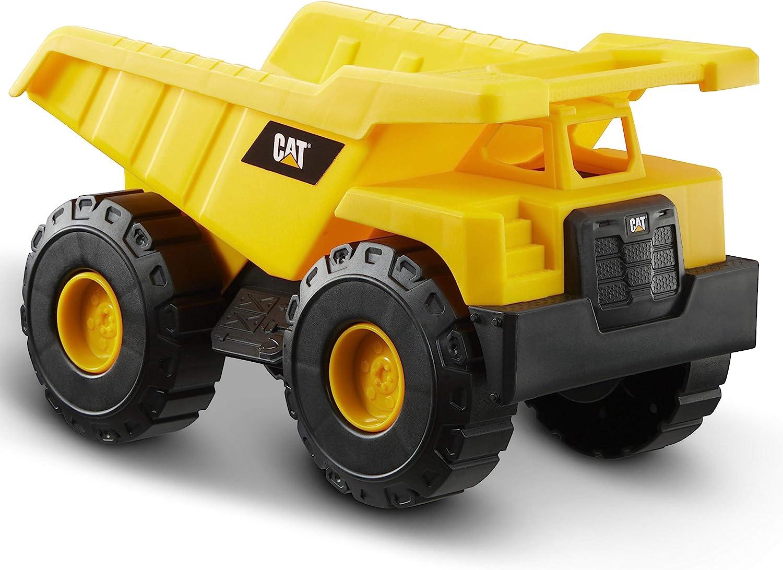 Caterpillar- Dump Truck Vehiculo de construcción, Color Amarillo (Funrise International 82021)