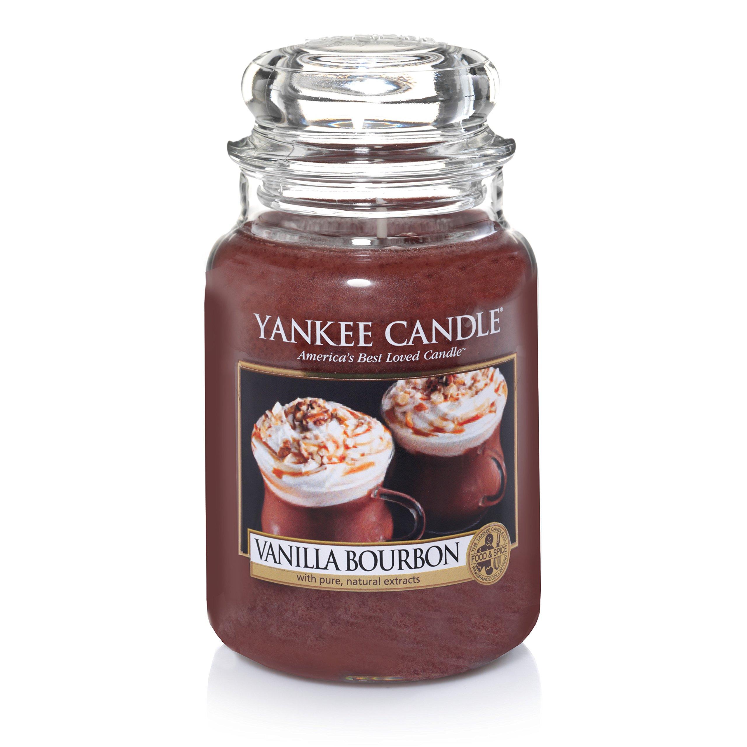 Yankee Candle Large Jar Candle, Vanilla Bourbon