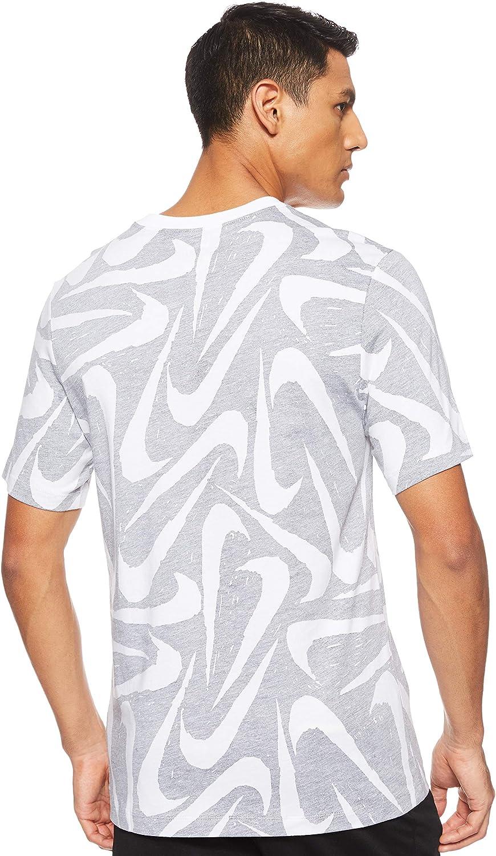 Hombre Nike M NSW Hand Drawn AOP SS tee Camiseta de Manga Corta