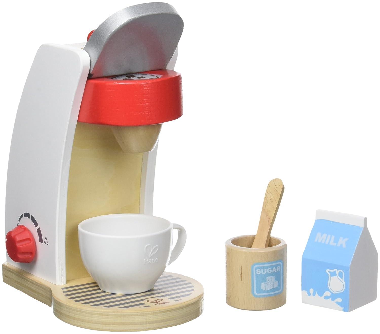 Holz Kaffeemaschine Kinder - Hape Kaffeemaschine Weiß