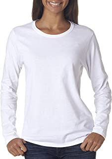 23ab00a8c6c3a Gildan Women s Heavy Cotton Long Sleeve T-Shirt