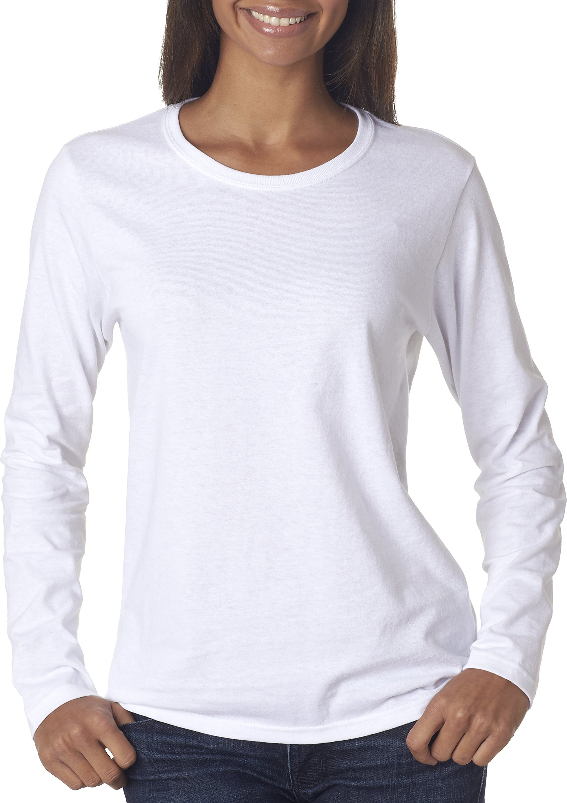 f75596960569 Gildan Heavy Cotton Ladies  Long-Sleeve T-Shirt