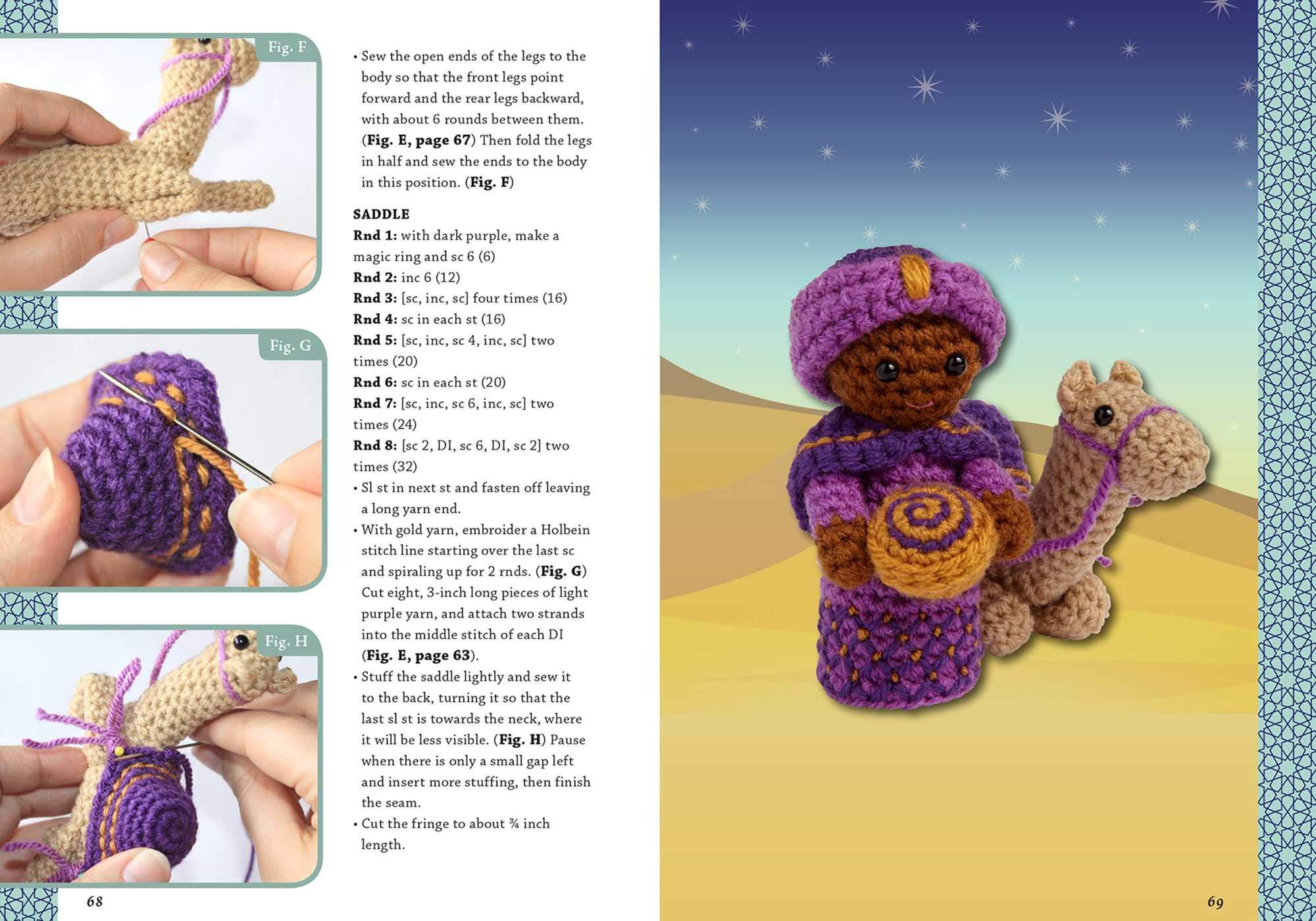 Christmas in July Part 3: Best Crochet Nativity Patterns - Crochet ... | 1400x2000
